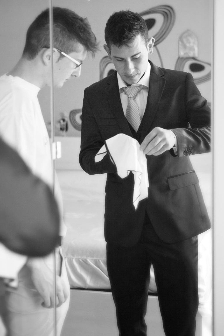 Preparazione dello sposo - Matrimonio Manuela e Claudio - Wedding