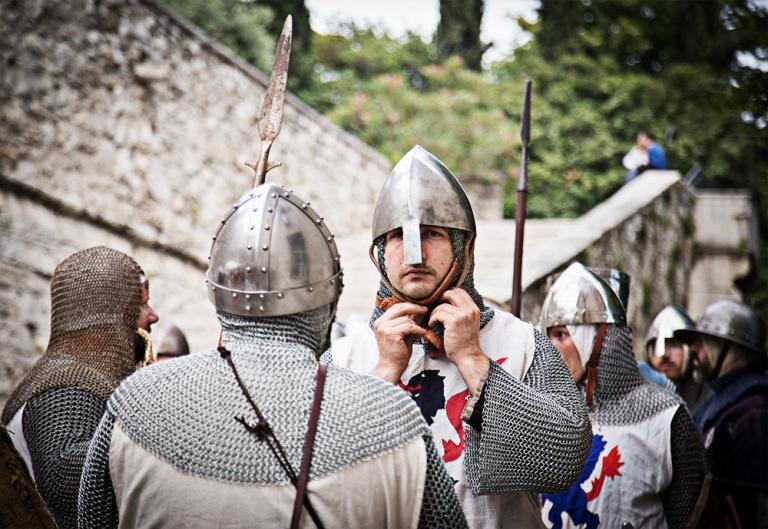Rievocazione storica castello Confraternita del leone laura gatta (11)