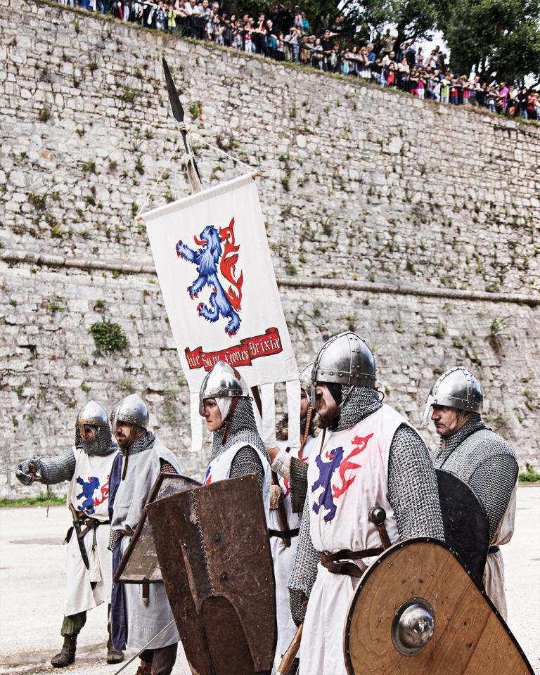 Rievocazione storica castello Confraternita del leone laura gatta (38)