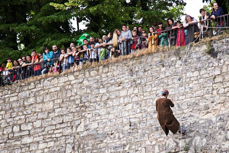 Rievocazione storica castello Confraternita del leone laura gatta (40)