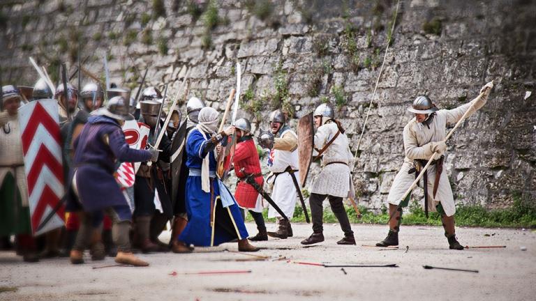 Rievocazione storica castello Confraternita del leone laura gatta (42)