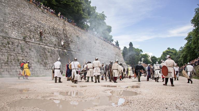 Rievocazione storica castello Confraternita del leone laura gatta (59)