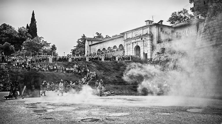 Rievocazione storica castello Confraternita del leone laura gatta (60)