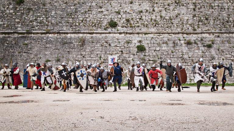 Rievocazione storica castello Confraternita del leone laura gatta (62)