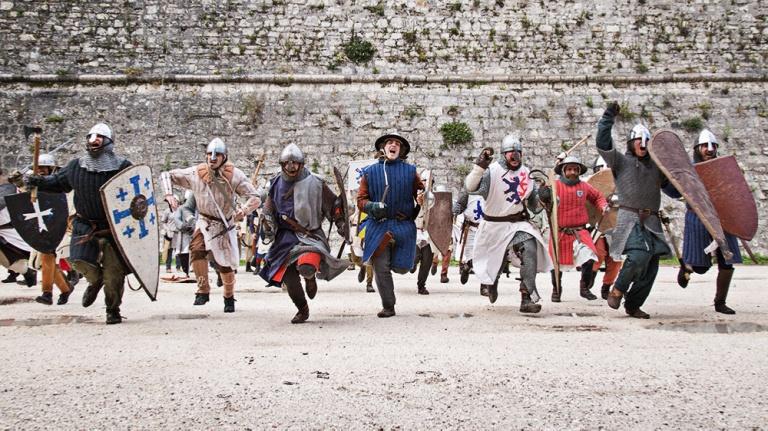 Rievocazione storica castello Confraternita del leone laura gatta (63)