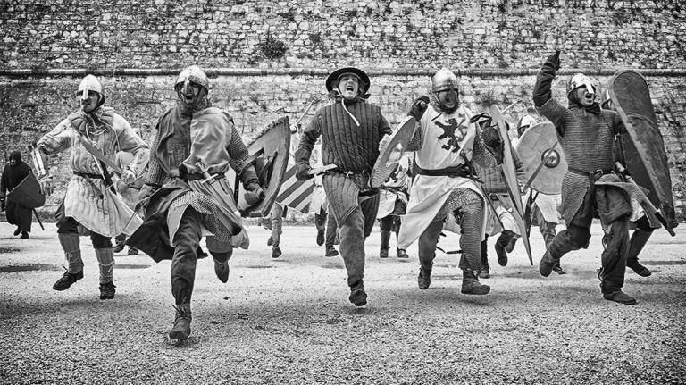 Rievocazione storica castello Confraternita del leone laura gatta (64)