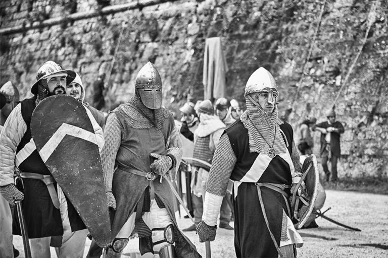 Rievocazione storica castello Confraternita del leone laura gatta (67)