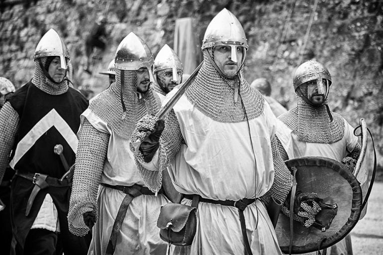 Rievocazione storica castello Confraternita del leone laura gatta (68)