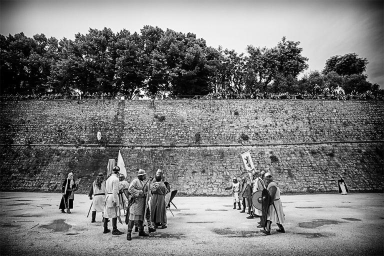 Rievocazione storica castello Confraternita del leone laura gatta (75)